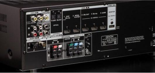 DENON AVR-X550BT - Puertos físicos