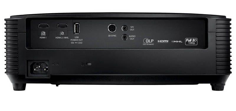 Optoma HD144X - Conexiones