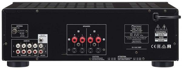 Pioneer SX-10AE - puertos y conexiones