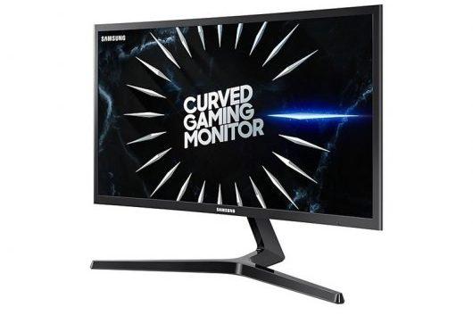 Samsung C24RG54FQU - muestra de la pantalla curva