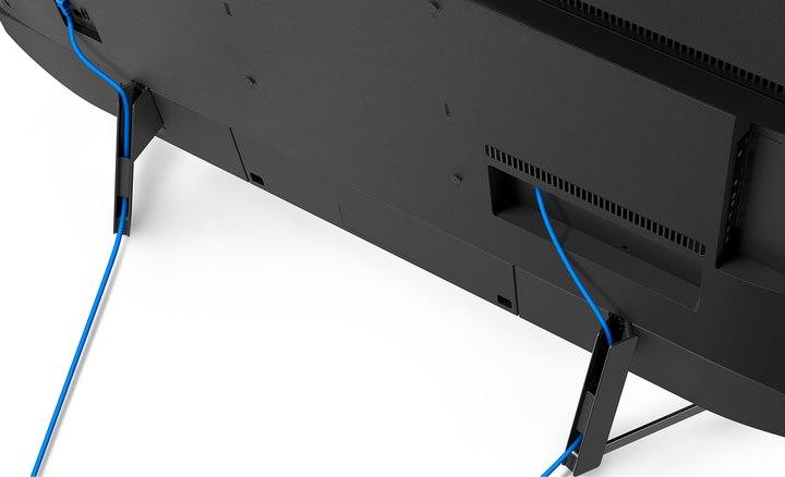 Detalles de la gestión de cables