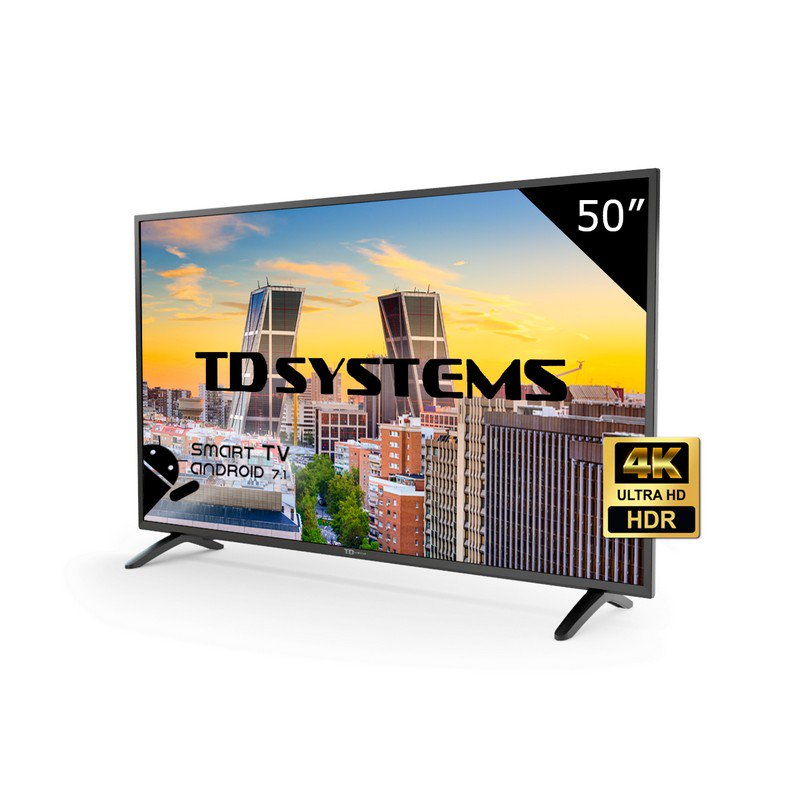 TD Systems K50DLH8US, Smart TV