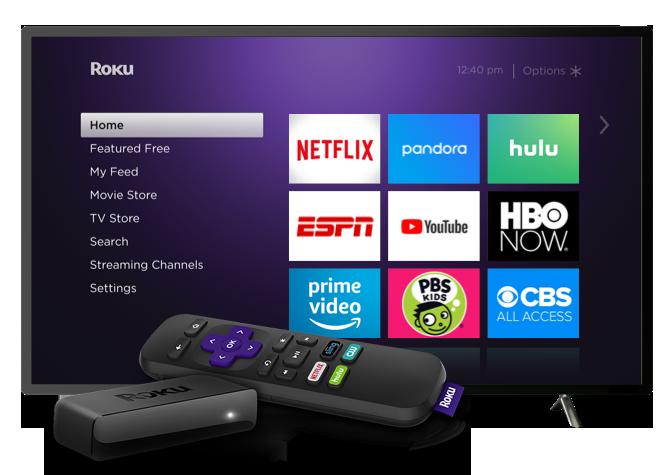 El contenido se pasará, de manera inalámbrica, tanto a tvs Roku como a sus dispositivos para televisión