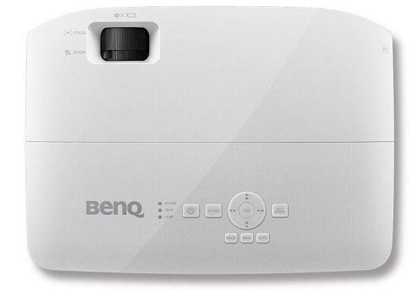 Benq MX535 - Diseño superior