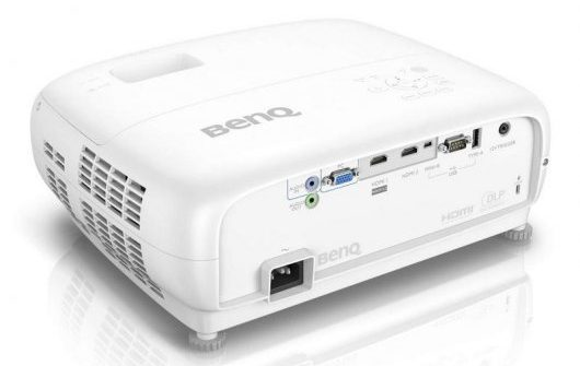 Benq W1720 - Diseño posterior y superior en perspectiva