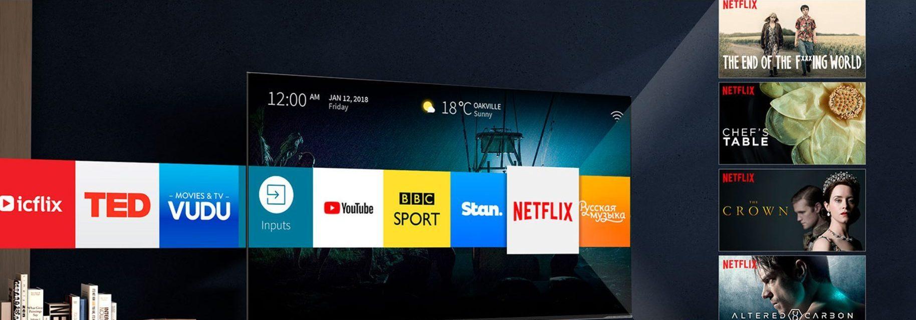 La tele incluye la plataforma inteligente VIDAA U en 2.5