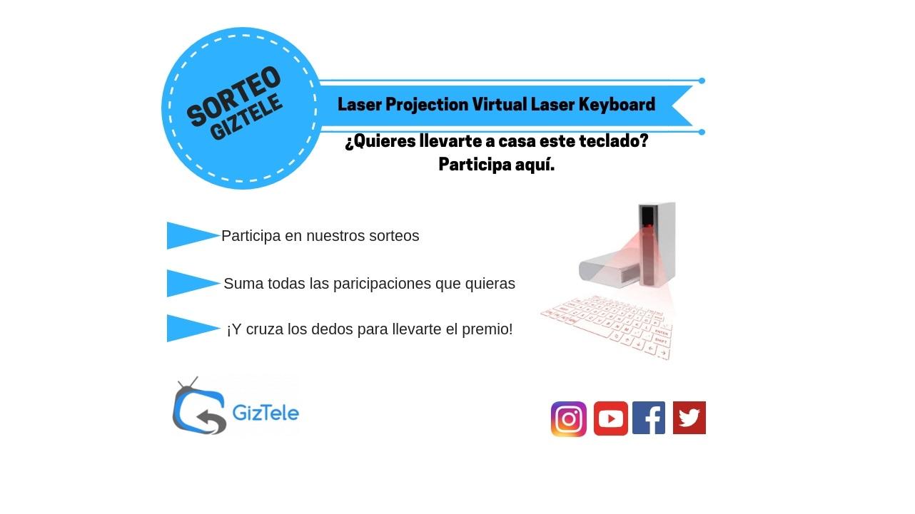 Copia de SORTEO Laser Projection Virtual Laser Keyboard