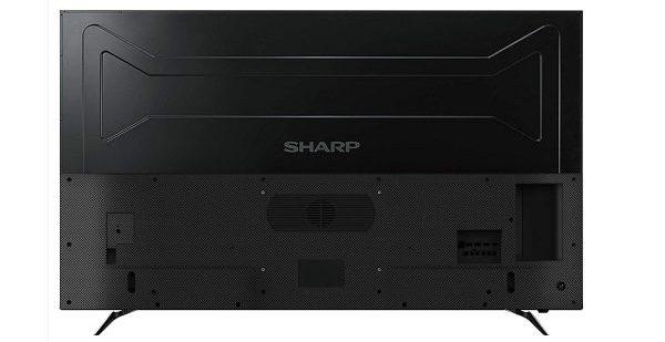 Sharp LC-60UI9362E - Diseño posterior