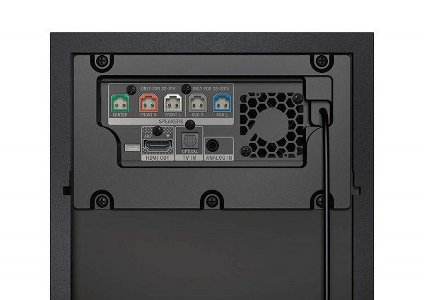 Sony HT-RT4 - Puertos y conexiones