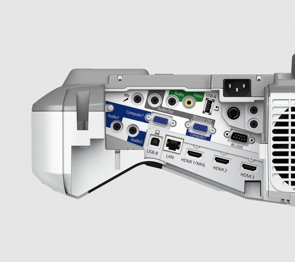 Epson EB-695Wi, conectividad