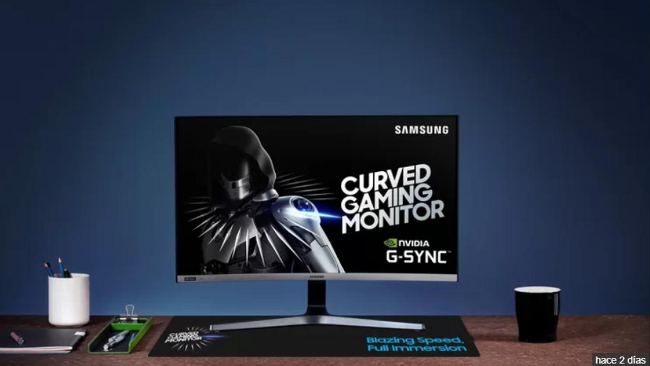 monitor gaming con Nvidia G-Sync de Samsung
