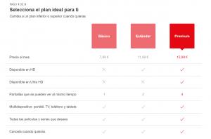 Aquí están las nuevas tarifas de Netflix