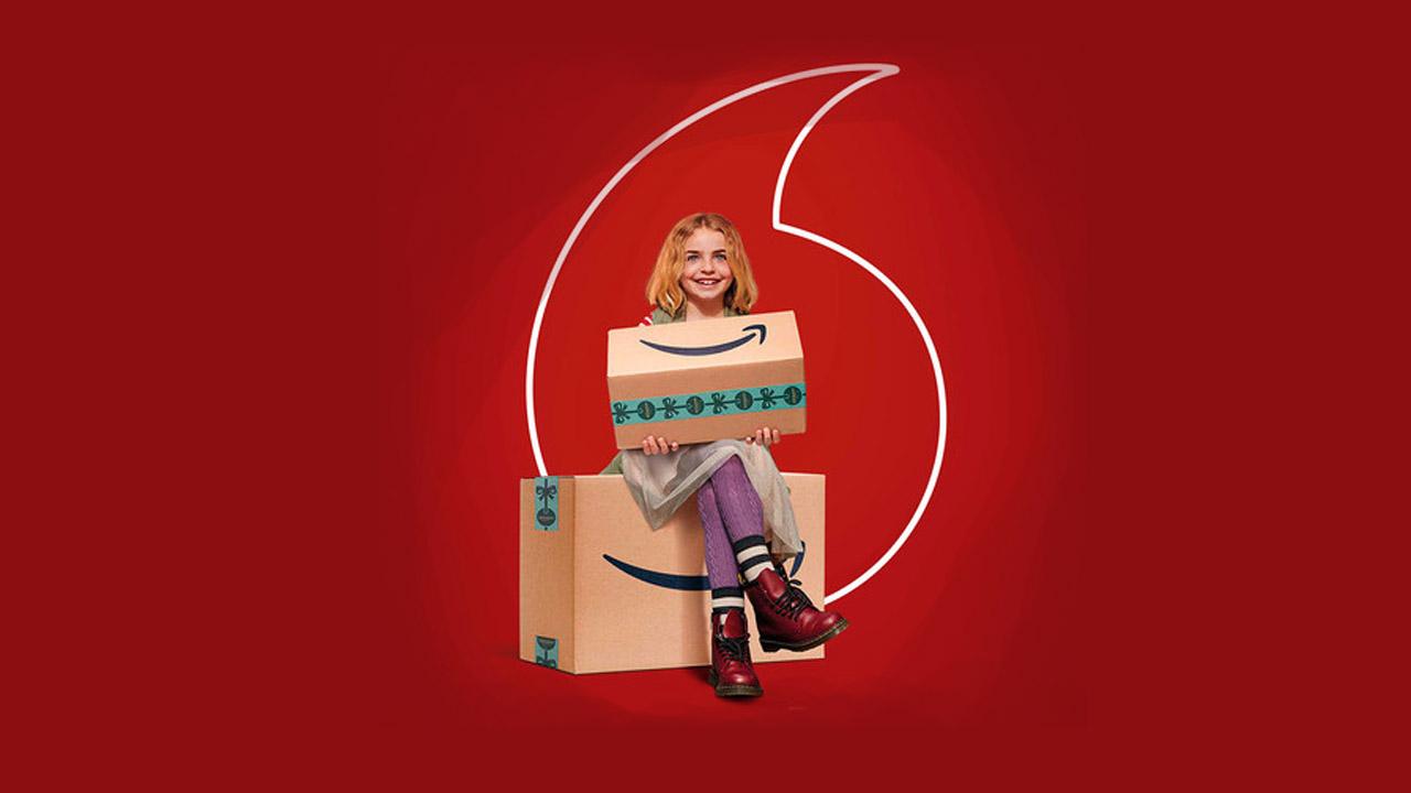 Amazon Prime Video gratis con Vodafone TV