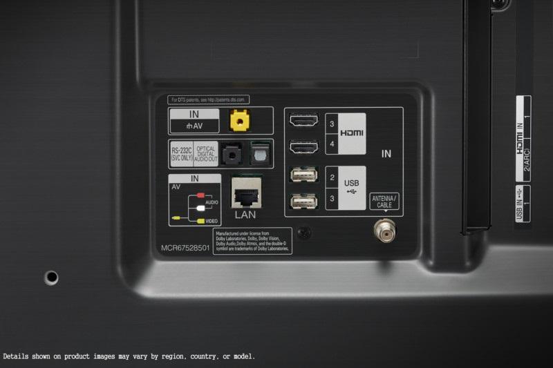 LG 55SM8500PLA, conectividad