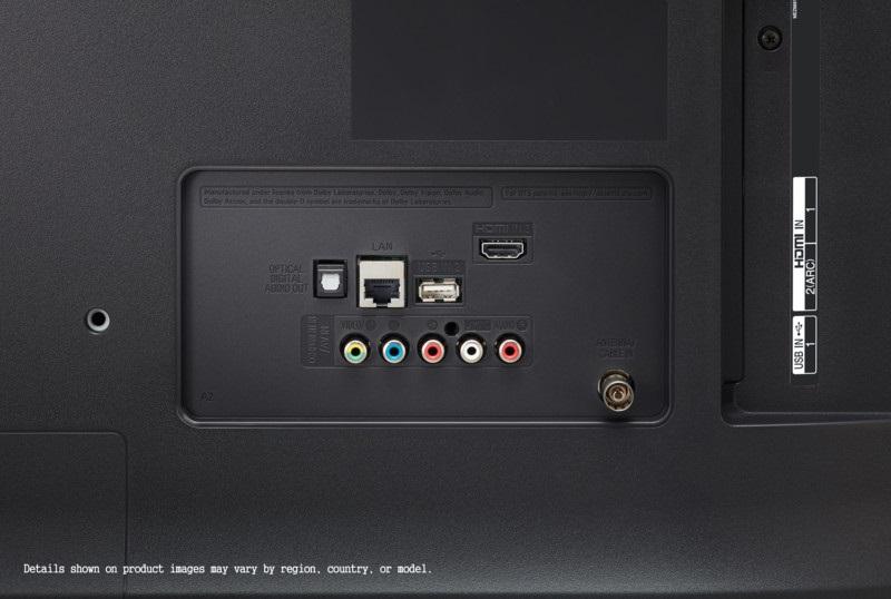 LG 65UM7400PLB, conectividad