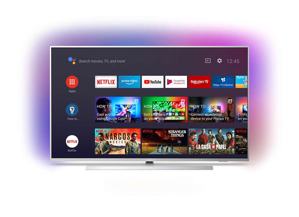 Así se muestra la interfaz del televisor