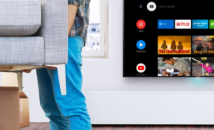 El televisor cuenta con una muy buena interfaz inteligente