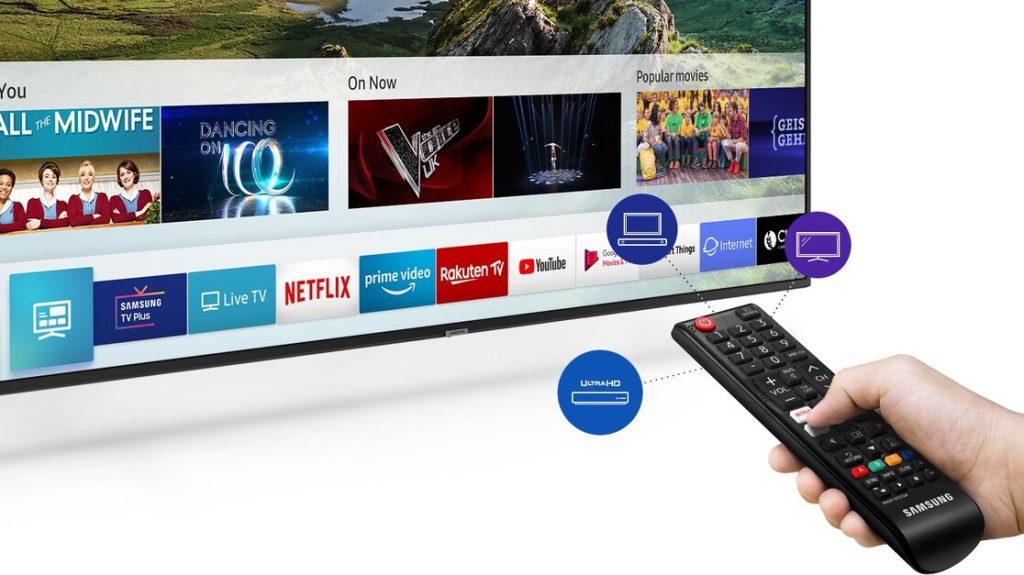 Samsung UE43RU7102, Smart TV