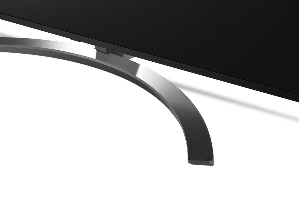 Espectacular peana del LG 75SM9000PLA