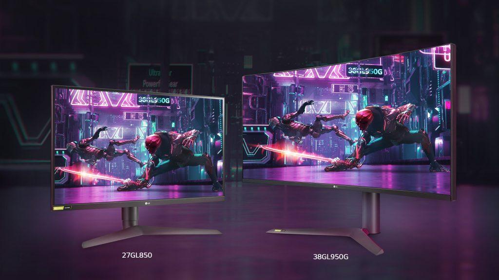 Aquí están los dos nuevos monitores gaming de LG (más el de portada)