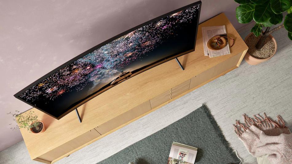 Samsung UE49RU7372, aspecto