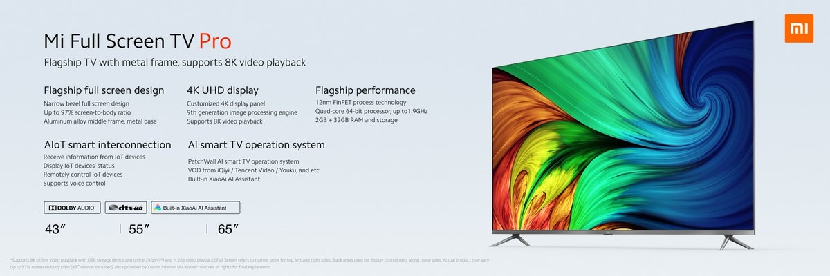 Xiaomi Mi Full Screen TV Pro 2