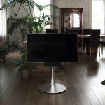 soporte para TV con barra de sonido