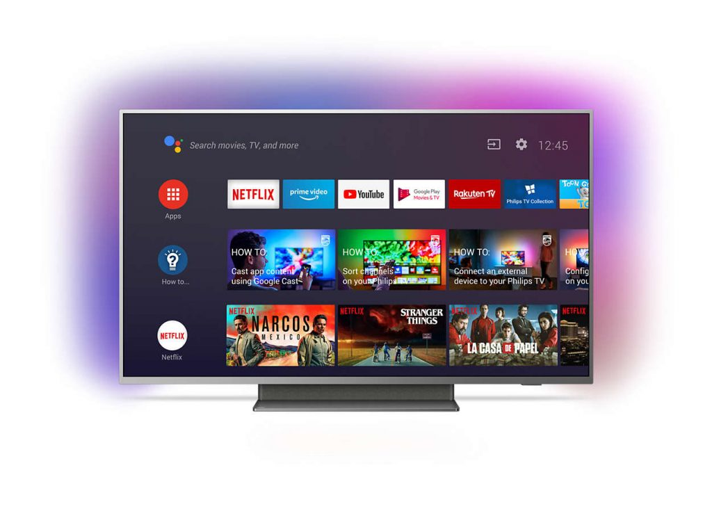 Philips 50PUS7504, Android TV