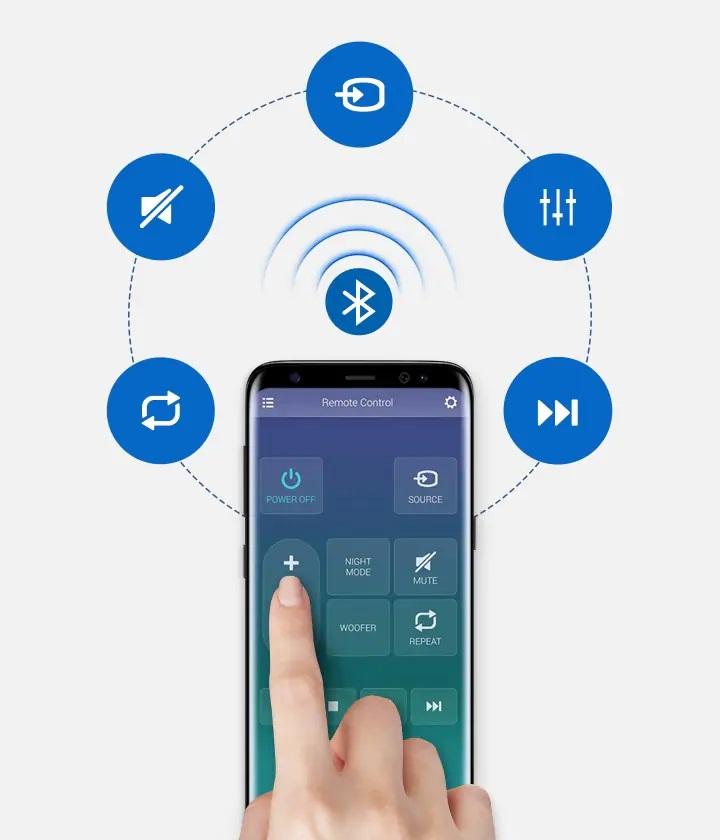 Samsung HW-N300, Samsung Audio Remote