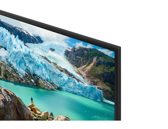 Samsung UE50RU7025, marcos