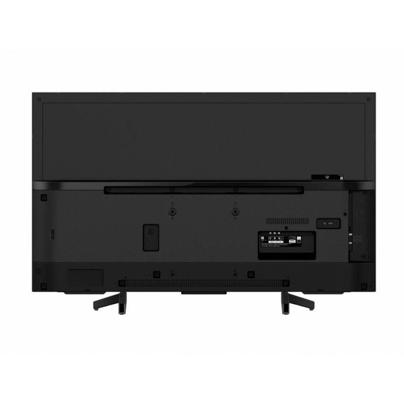 El dorso del Sony KD43XG7096BAEP incluye las conexiones físicas