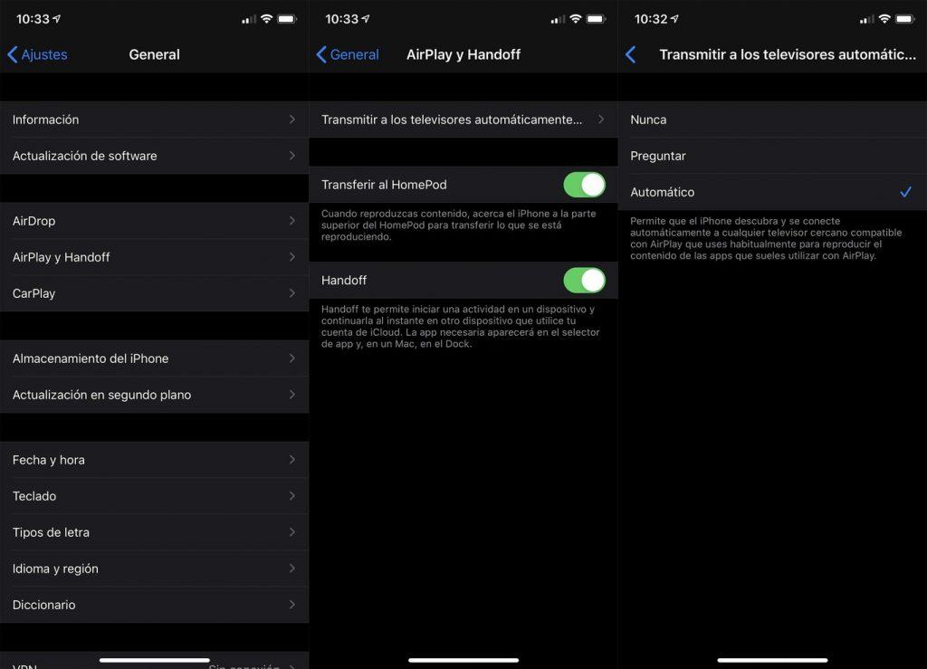 Aquí vemos cómo usar la nueva mejora para la funcionalidad AirPlay en Apple TVs y televisores compatbles