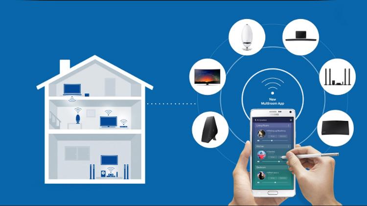 La funcionalidad nos permite estar conectados en todas las habitaciones de manera inalámbrica