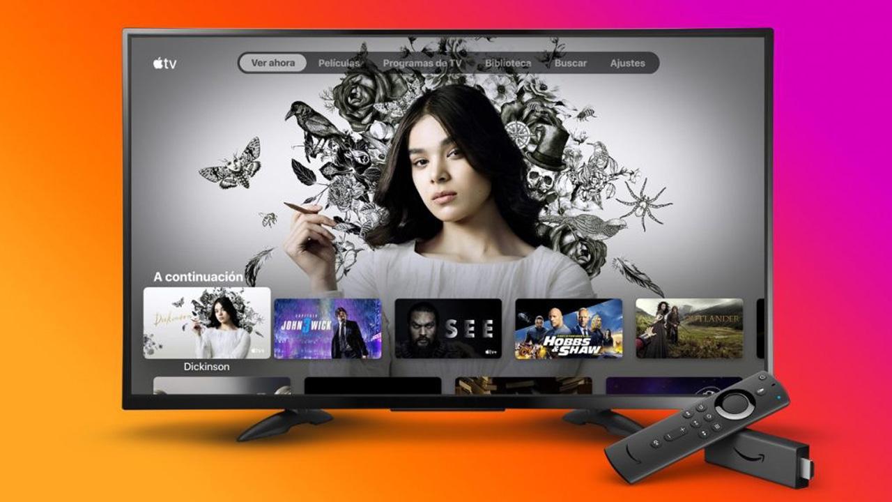 Apple TV+ con Amazon Fire TV