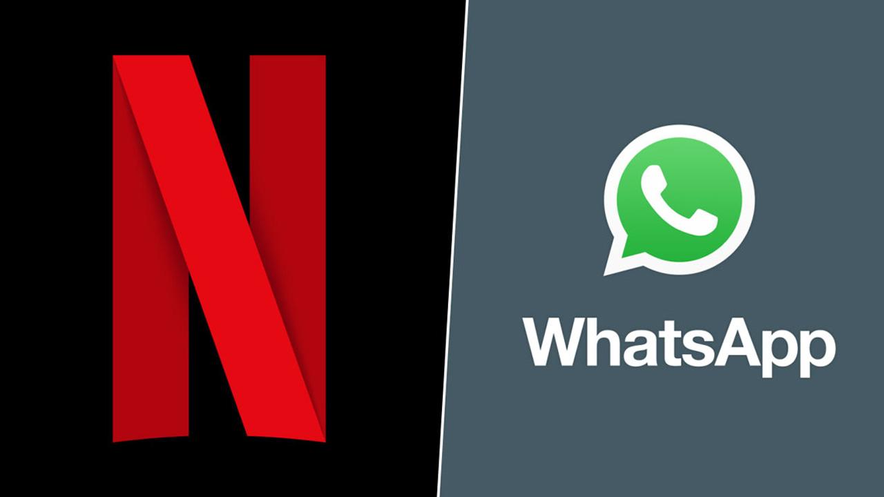 Netflix en WhatsApp