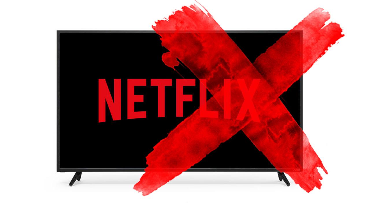 Netflix en los televisores Vizio