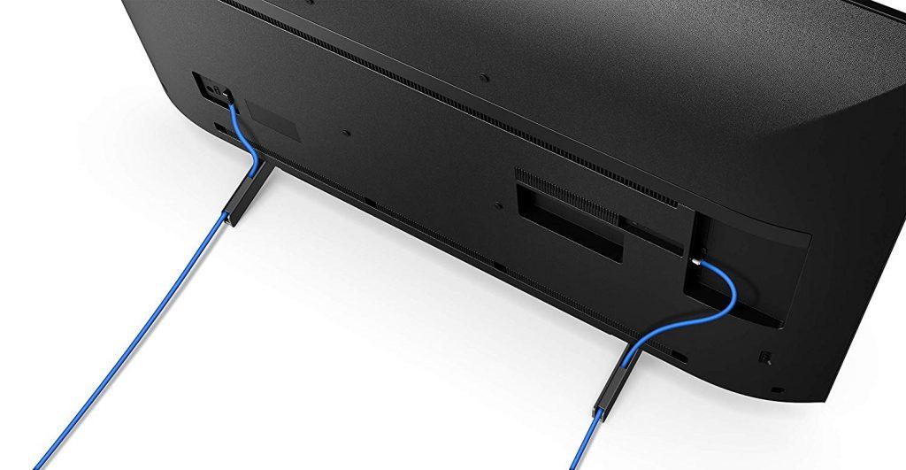 Sony KD-49XG8096, portacables