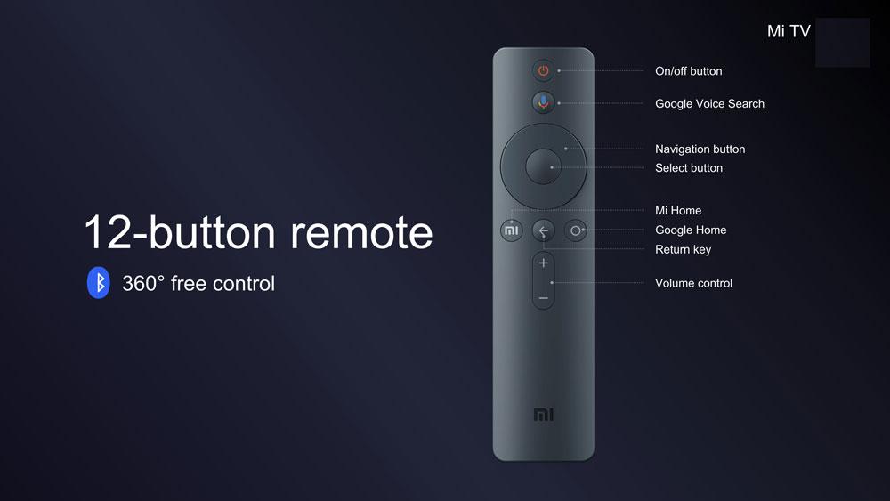 Xiaomi Mi TV, mando a distancia