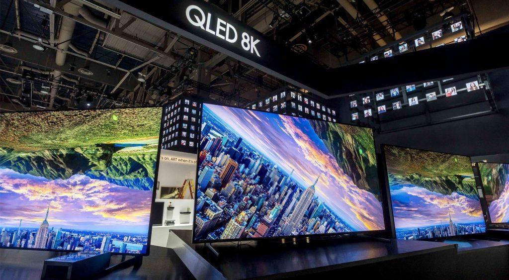 La presentación de los televisores QLED 8K ha venido cargadita