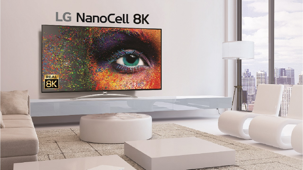 televisores 8k real