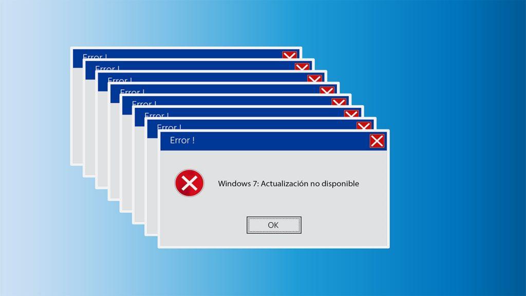 Nos quedamos sin actualizaciones gratuitas para Windows 7