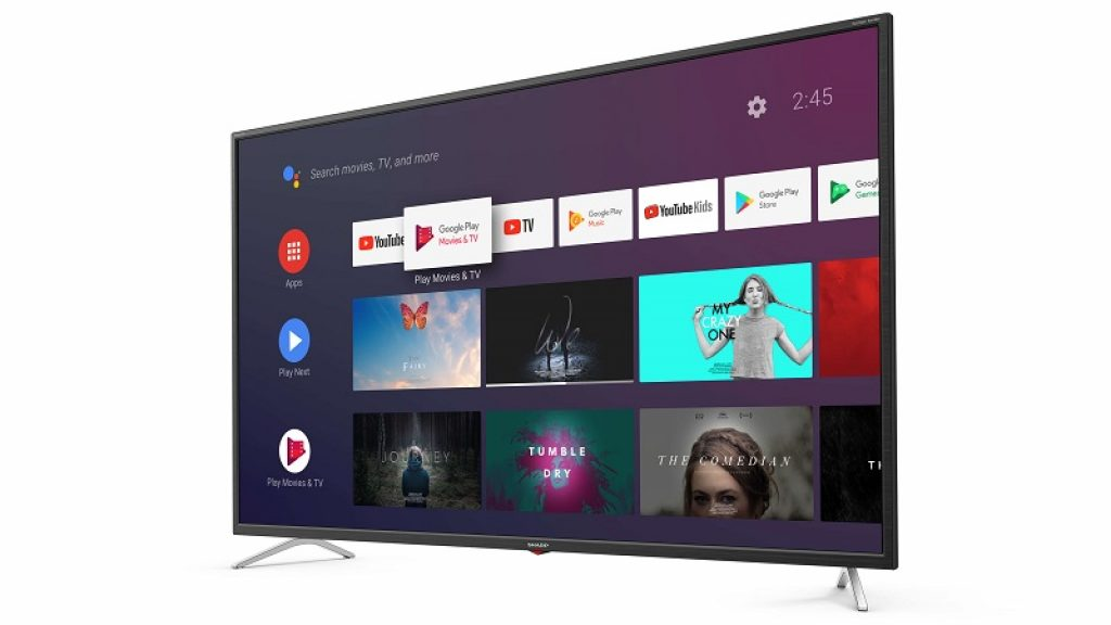Sharp 4TC50BL3, Smart TV