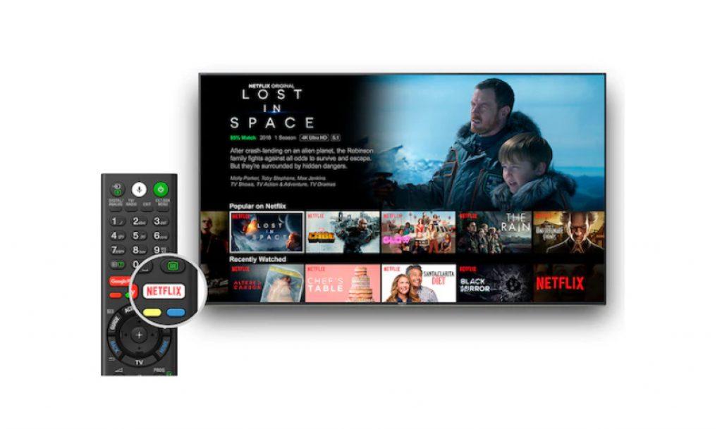 El televisor cuenta con un software inteligente estupendo