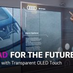Transparent OLED Touch