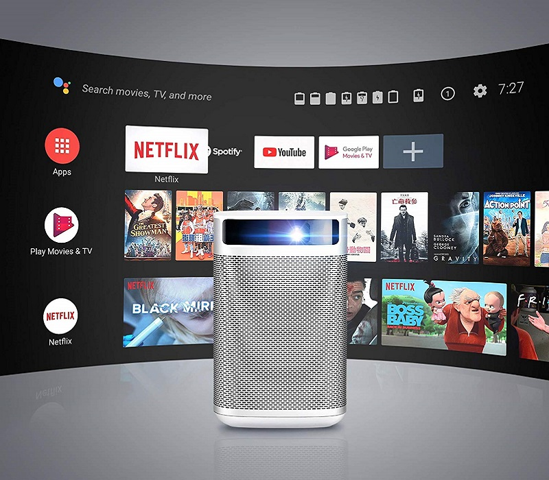 XGIMI MoGo Pro, Android TV