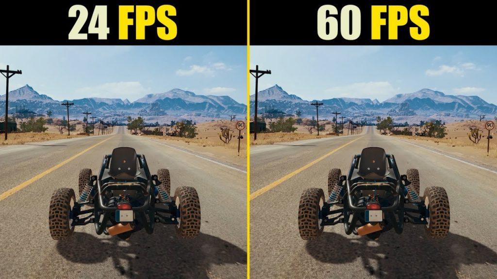 Aquí podemos apreciar la diferencia entre imágenes con más y menos fotogramas