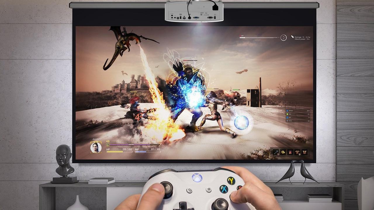 proyector para gamers
