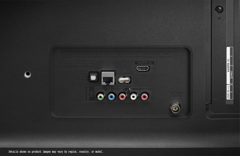 LG 49UM7050, conexiones