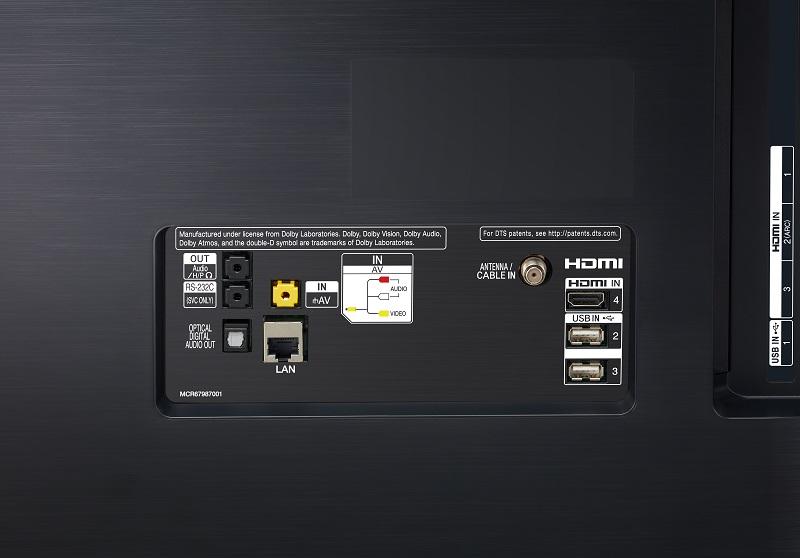 LG OLED55B9PLA, conectividad