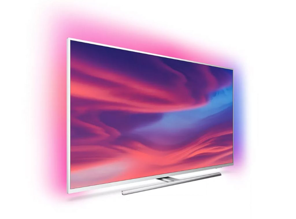 El diseño del televisor sigue la línea de sus hermanos y antecesores